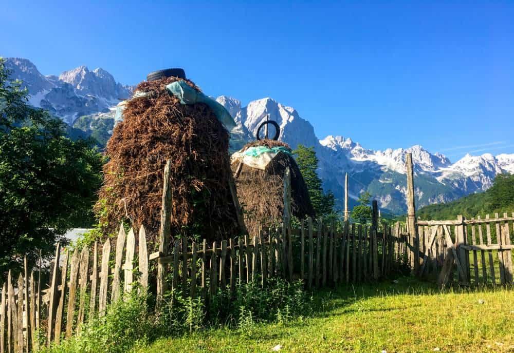 Valbona to Theth trail Albania