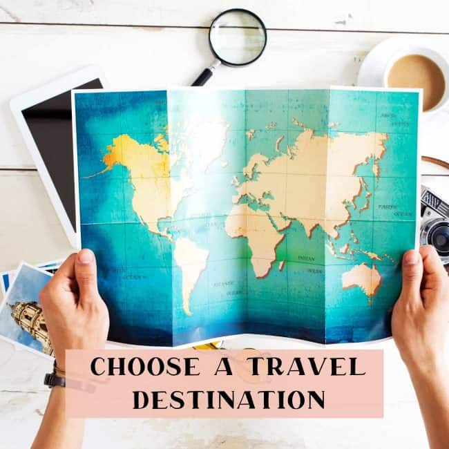 choosing a travel destination