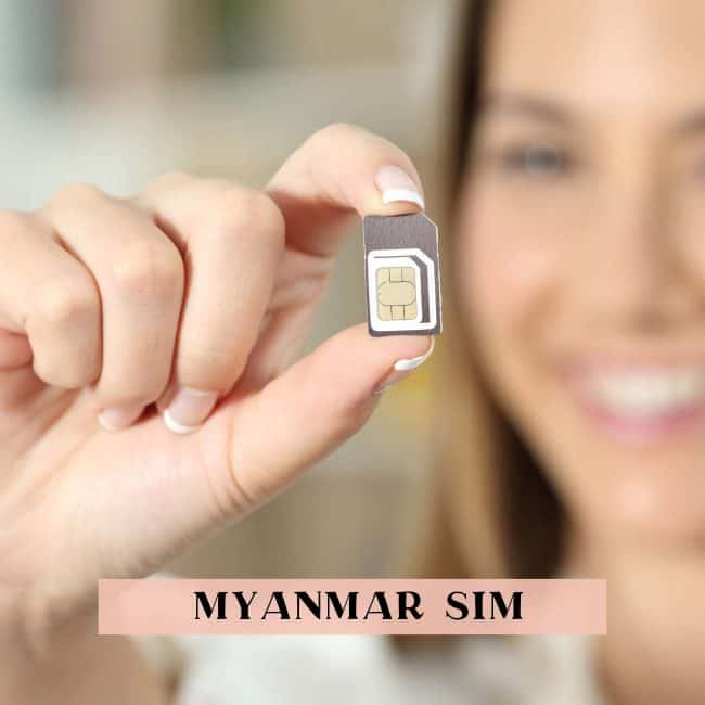 Tips on getting a prepaid Myanmar SIM card
