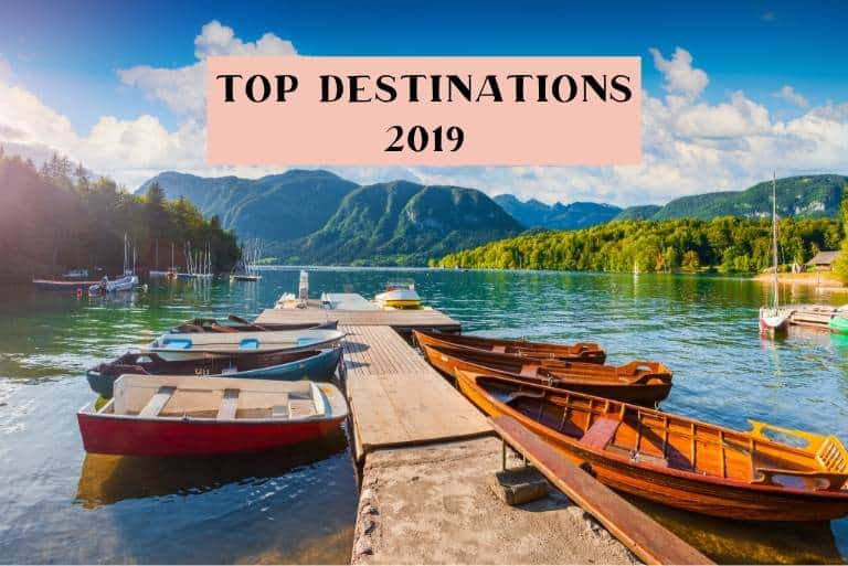 my favourite travel destinations 2019