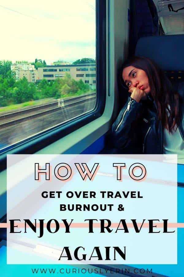 Get over travel burnout with these travel fatigue cure tips. 8 steps to help you start enjoying travel again and recognise the signs and symptoms of travel tiredness. Long-term travel is difficult and it's important to not feel guilty about taking off-days. #travelproblems #tiredfromtravel #longtermtravel