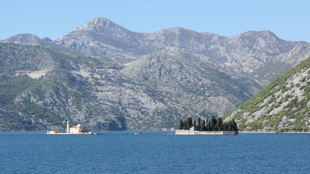 The Bay of Kotor from Perast