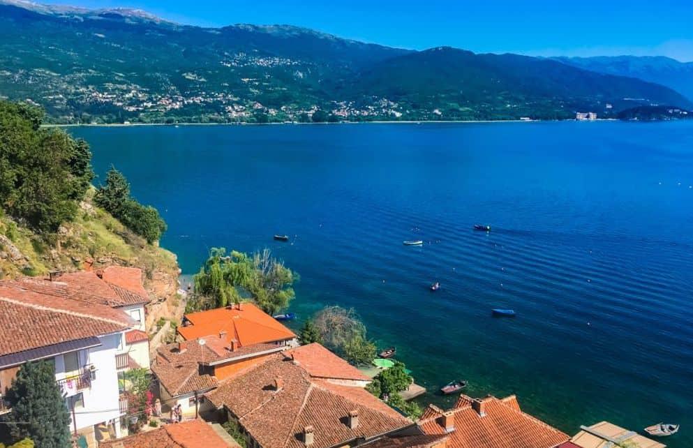 Views of Lake Ohrid