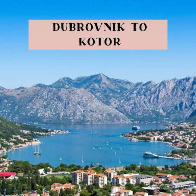 Bus to Kotor