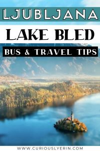 Are you heading to Lake Bled soon? Discover how to reach this lakeside beauty from Ljubljana in this guide. This guide will tell you all the tip and info about getting the bus from Ljubljana to Lake Bled #lakebledslovenia #sloveniatravel #backpackingslovenia #europetaraveltips