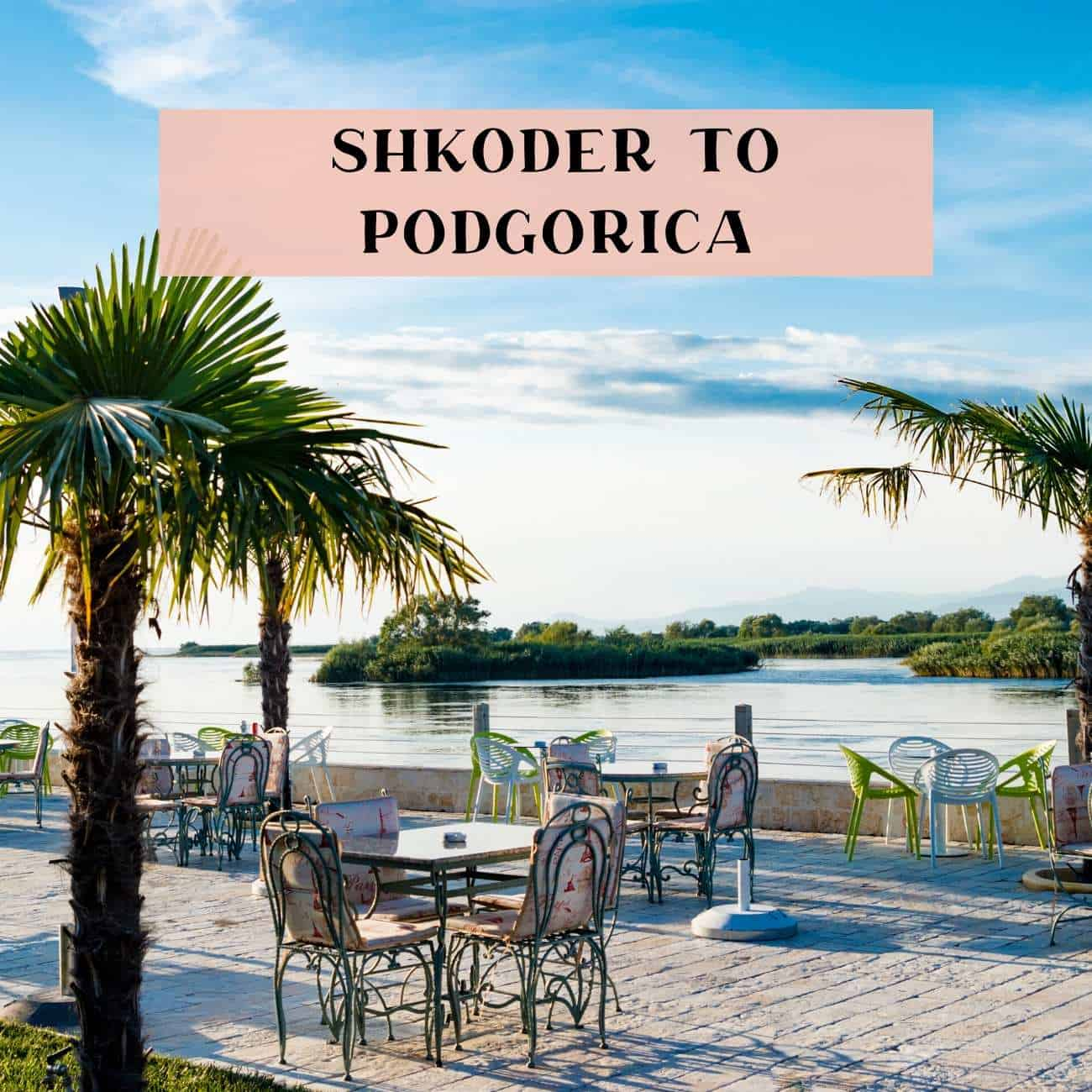 Bus from Shkoder to Podgorica