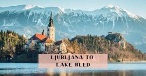 Ljubljana Lake Bled bus