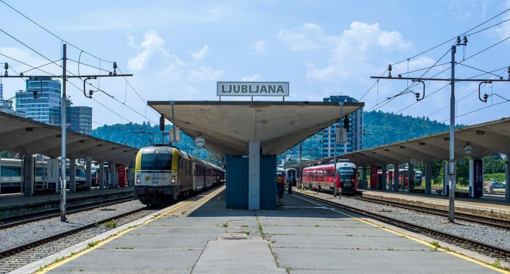 Ljubljana train station