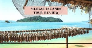 Myeik islands tour