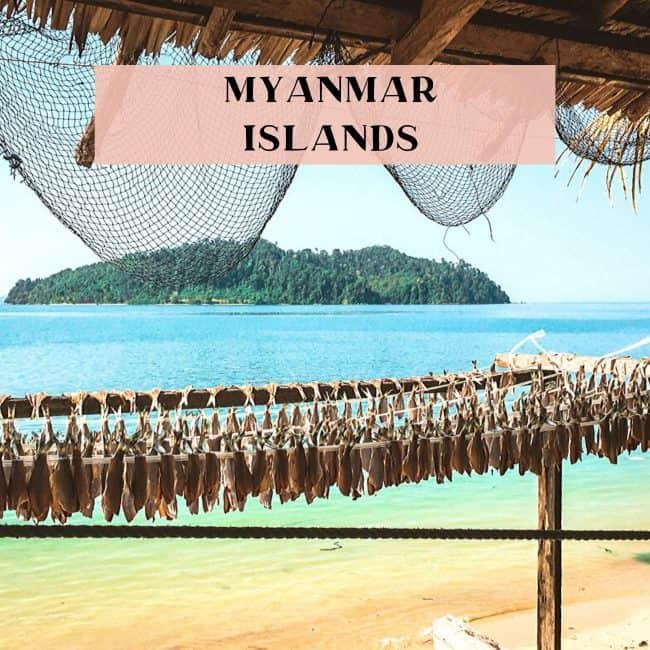 Myanmar Islands