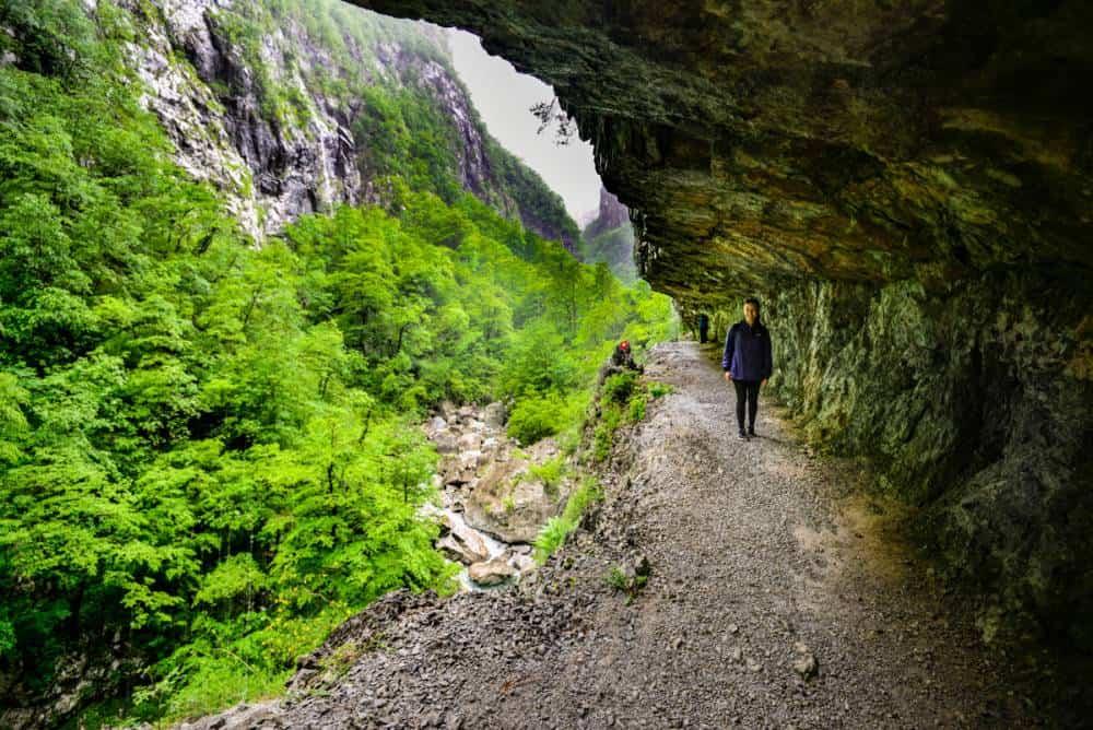 Hiking the Mrtvica Canyon