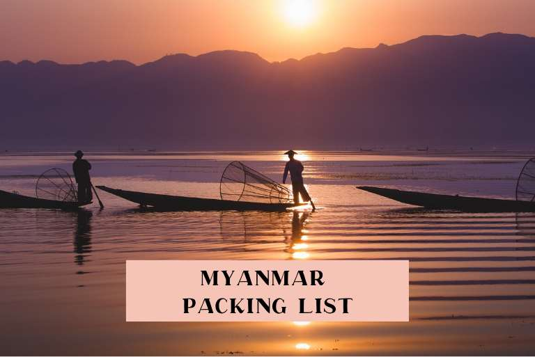 What to wear in Myanmar