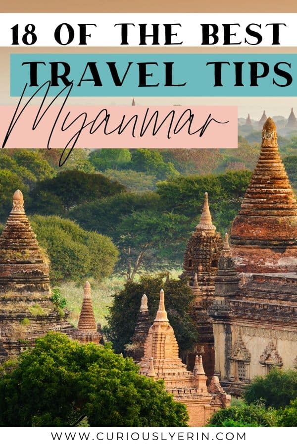 Discover the top tips for visiting Myanmar. From tips about culture, language, travelling and buying SIM cards and more. In this post, you will find everything you need to know about Myanmar before you visit. #travelmyanmar #southeastasiadestinations #budgetravel #traveltipsasia