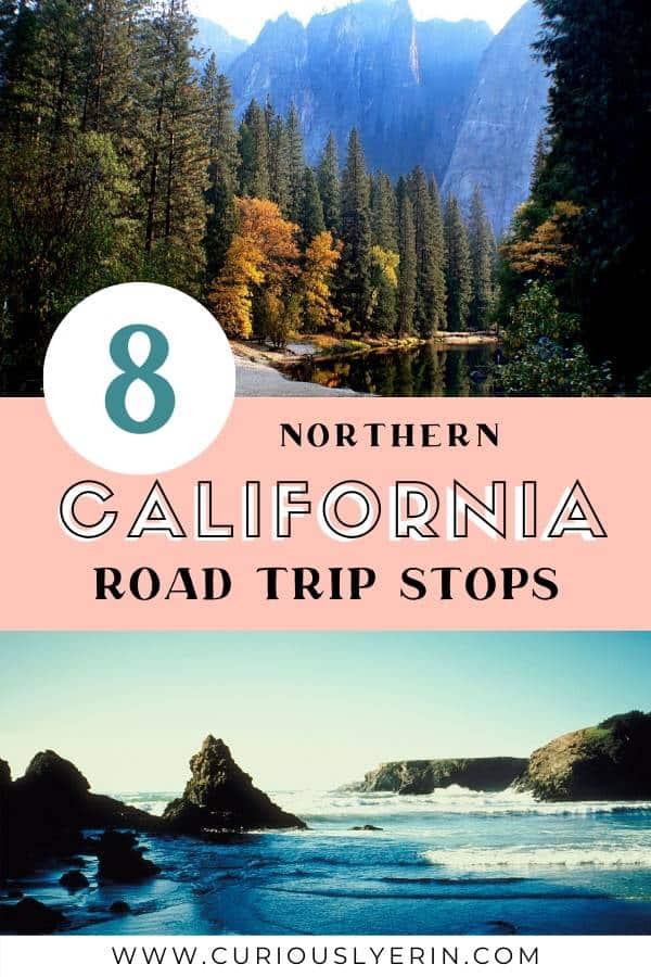 The ultimate northern California road trip itinerary and route details. Make sure to include this top California destinations including Yosemite, Sacramento, Sonoma and more to your list today. Find out the less touristy places to visit #roadtrip #californiaroadtrip #travelcalifornia #usaroadtrip