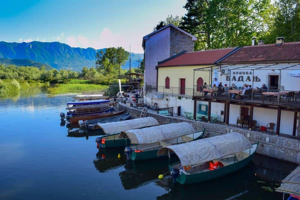Virpazar riverfront restaurants