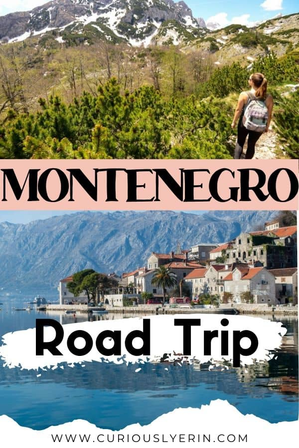 Discover the best of Montenegro travel with this 7-day road trip itinerary. Montenegro is the gem of the Balkans and tourism is yet to catch on. Spend one week in Montenegro visiting the bayside towns of Kotor and Perast to the mountains of Durmitor National Park, get on the water in Lake Skadar and learn about the historic town of Stari Bar before finishing up on the beaches of Ulcinj. #montenegroroadtrip #balkanstravel #cheapdestinations #travelmontenegro