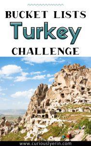 Turkey bucket list challenge pdf
