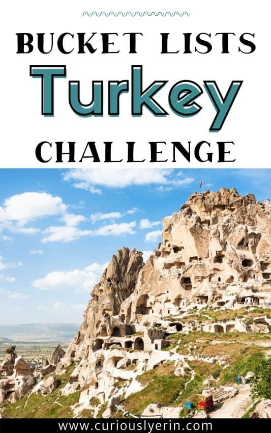 Turkey bucket list challenge pdf