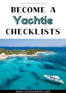 Superyacht checklists cover
