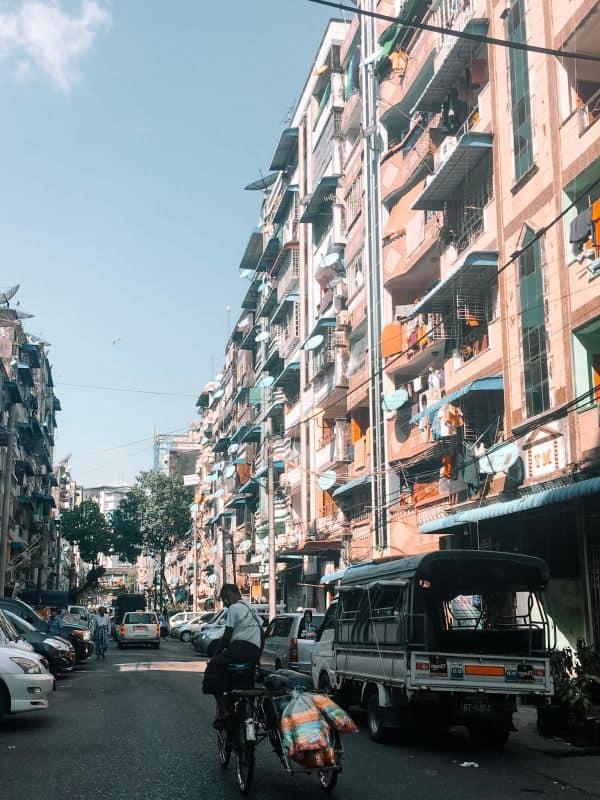 Yangon street