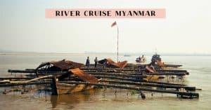 Bagan to Mandalay scenic cruise