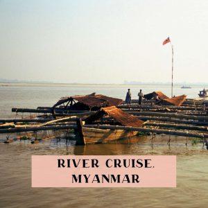 River cruise Mandalay to Bagan