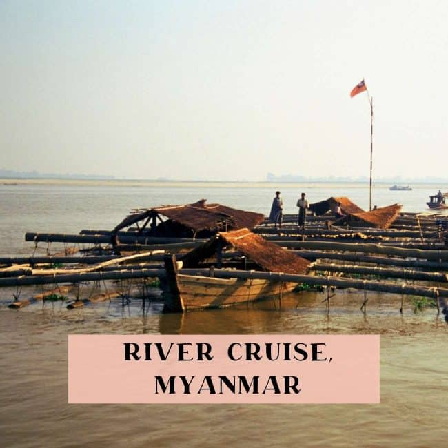 River cruise Mandalay to Bagan