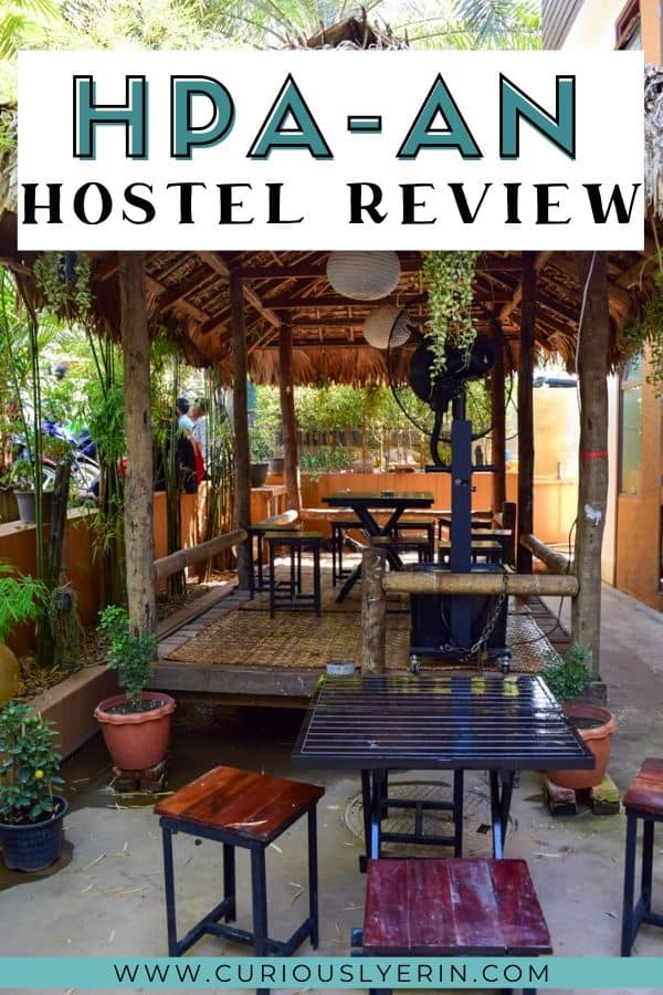 Wondering where to stay in Hpa-An Myanmar? The Lil Hpa-An hostel is the best hostel in Myanmar and frequently books out. Discover why you should stay here when travelling in Myanmar and also why you need to add Hpa An to your places to visit in Myanmar. #myanmartravel #myanmardestinations #thingstodomyanmar #hpaanmyanmar