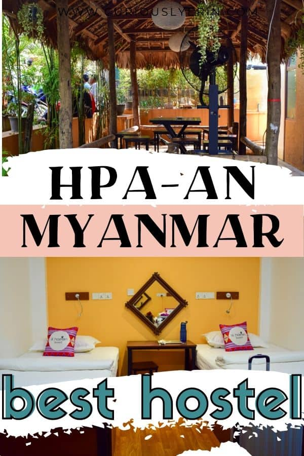 Wondering where to stay in Hpa-An Myanmar? The Lil Hpa-An hostel is the best hostel in Myanmar and frequently books out. Discover why you should stay here when travelling in Myanmar and also why you need to add Hpa An to your places to visit in Myanmar. #myanmartravel #myanmardestinations #thingstodomyanmar #hpaan