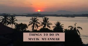Places of interest in Myeik
