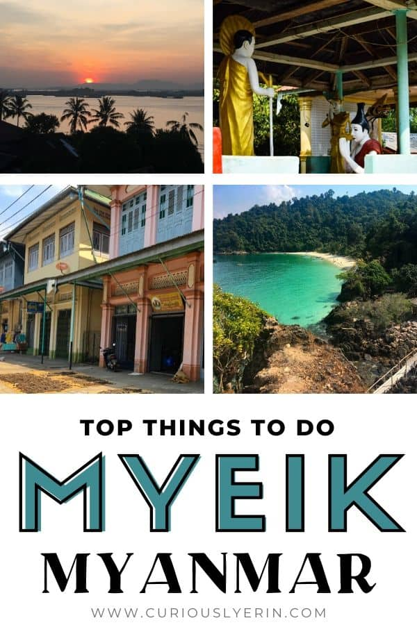 Discover this off the beaten track destination in Myanmar and southeast Asia from someone who lived here. Find the top things to do in Myeik, where to eat, stay, how to get here and more. Myeik is the gateway to the Mergui Archipelago a chain of over 800 islands. Join a city tour to see the fish drying, cashew nuts plantations and the old colonial architecture. 3 days is a perfect amount of time to see what this city has to offer #myeikarchipelago #travelmyanmar #myanmar #placestovisitinmyanmar