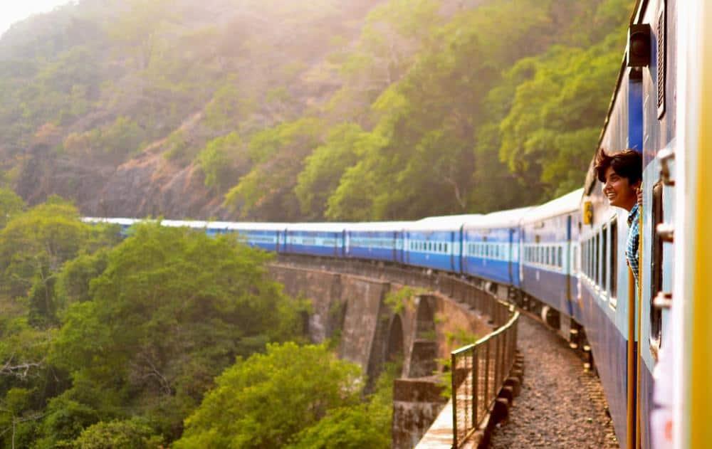 scenic train journey