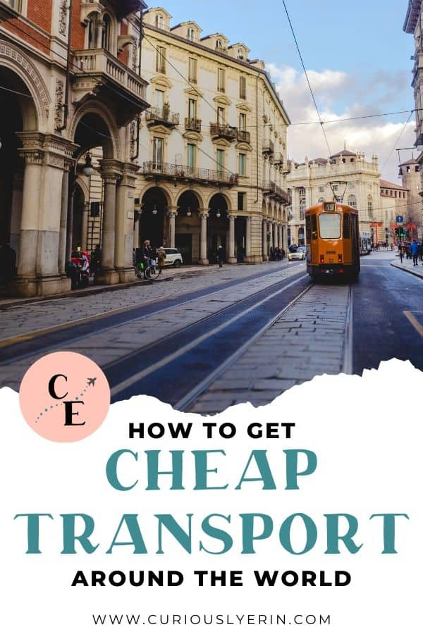 Are you wondering how you can save money on transport and travelling? In this post you will find 29 ways you can get cheaper transport when abroad or in your home country. Discover the top ways to save money on air travel, travelling by car on a budget, the best way to travel cheap in Europe, Asia and the rest of the world, how to hire a car from $1 day (yes, really) and other travel hacks for saving money on travel and transport #budgettraveltips #travelhacks #travelcheap #travelingandtransport