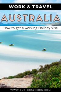 Work and travel Australia. Find out how to spend a gap year or sabbatical abroad in Australia. This ultimate guide will hold your hand and walk you through the stages of applying for your working holiday visa Australia. Discover tips of finding jobs, planning Australia travel, managing money, and info about farm work and applying for a second year visa. #workandtravel #jobsabroad #whvaustralia #workingholidayvisa
