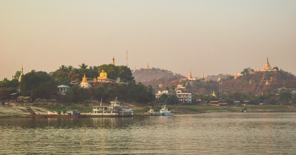 Along the Ayeyarwady River