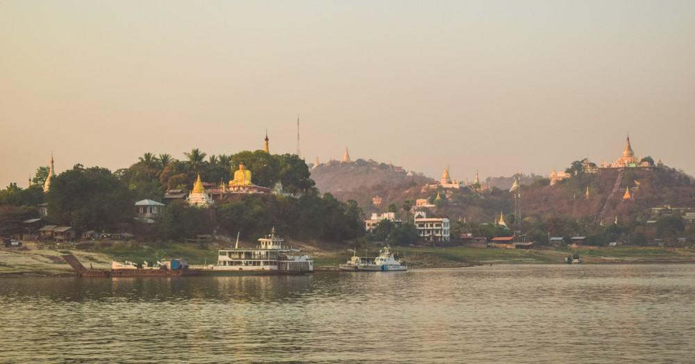 Along the Ayeyarwady River