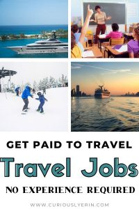 If you love travelling and learning about new cultures then you should consider finding a job that pays you to travel the world. These unique travel jobs require no experience to get started. Start working abroad this year and live a life you love #traveljobs #workabroad #paidtotravell #travelcareers