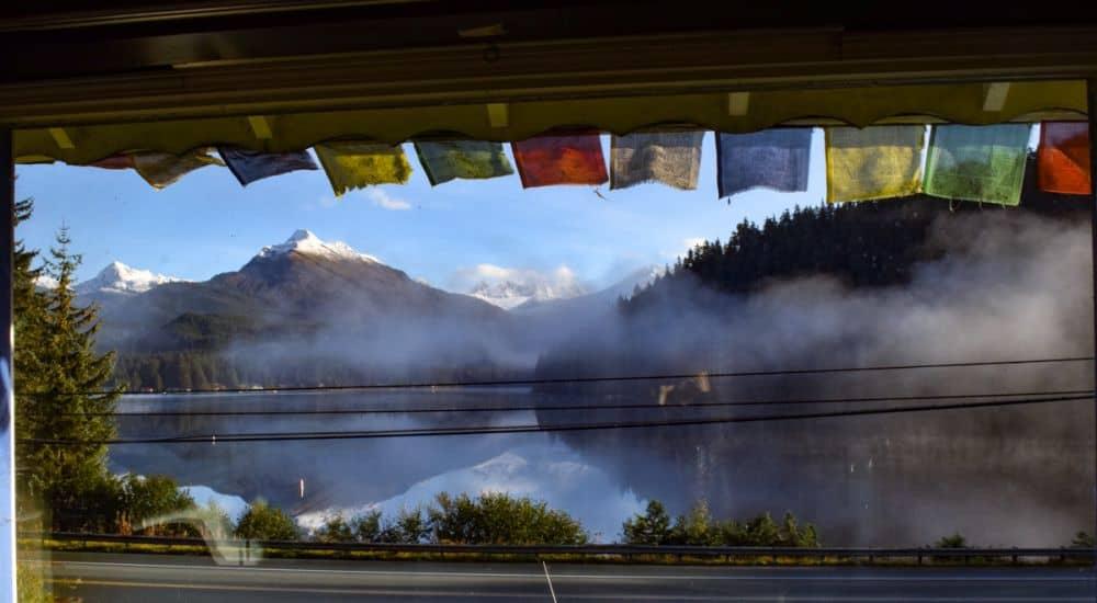Auke Lake in Juneau, Alaska