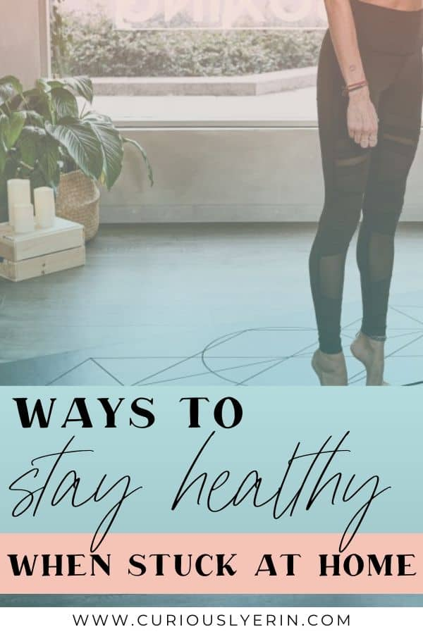 We're all stuck at home, waiting out isolation periods. Use this time to implement healthy lifestyle changes to get through this mentally and physically. These 9 ways to improve health and wellbeing will control stress levels and emotions enabling you to be a better version of yourself. #managestress #stuckathomeactivities #healthylifestyle