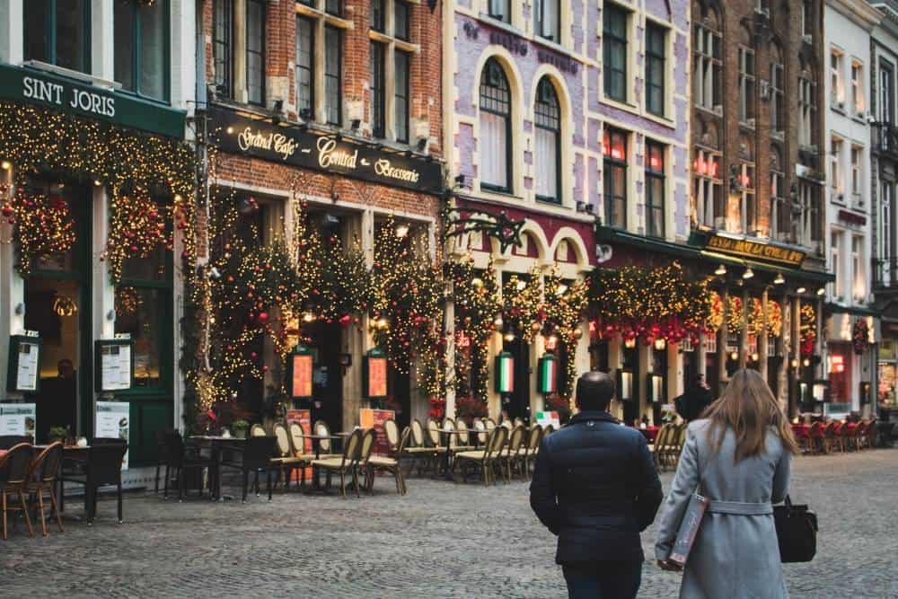 Bruges Christmas break Europe