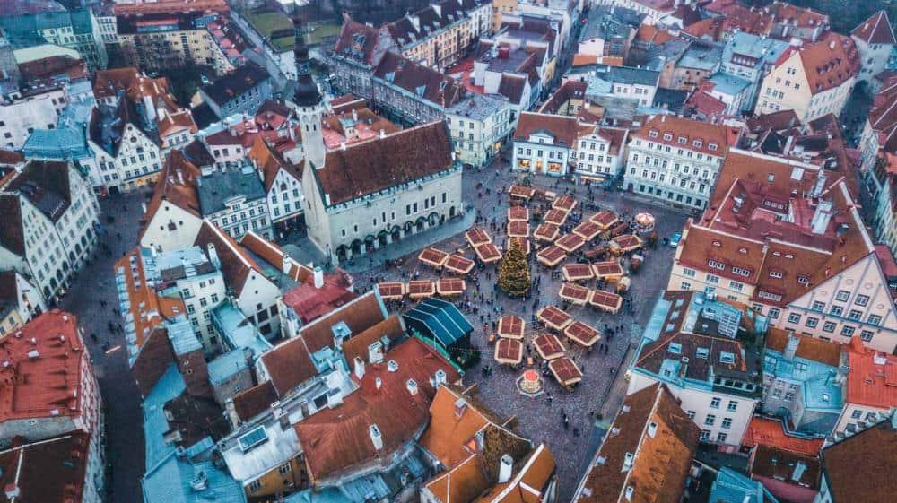 Tallinn Estonia voted best Christmas market in Europe