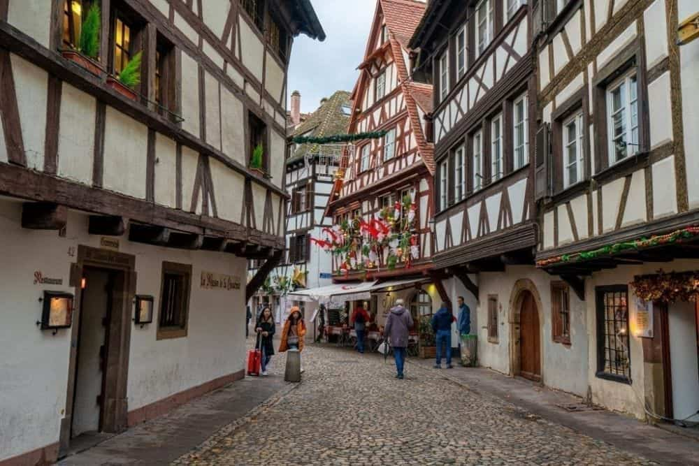There are 10 Christmas Markets in Strasbourg France