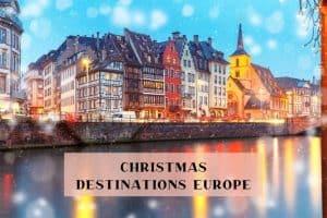 Christmas breaks Europe