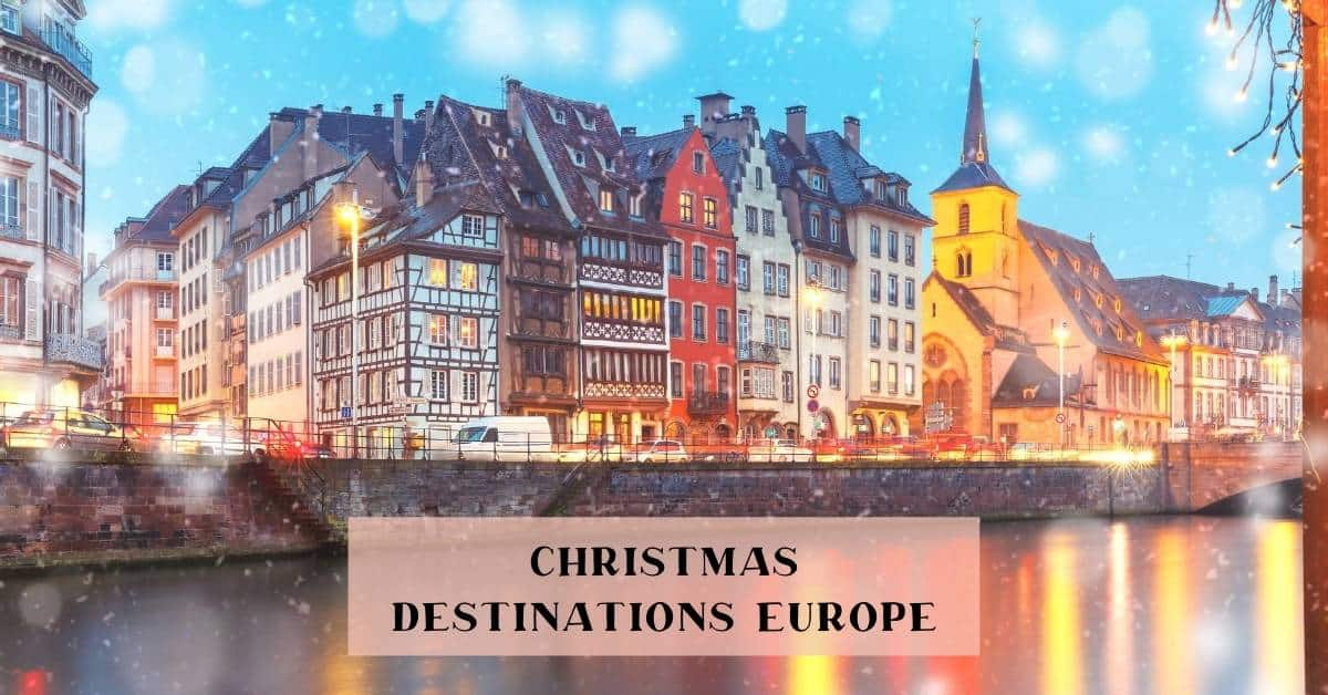 Top destinations in Europe Christmas