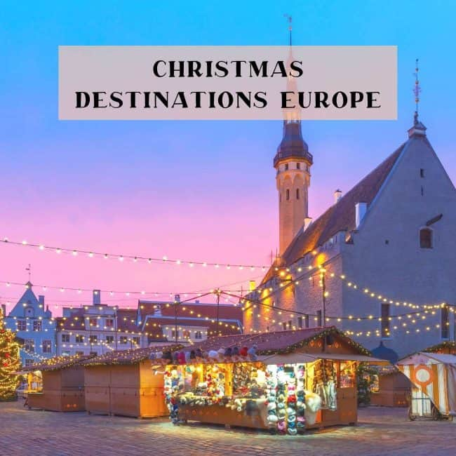 Christmas Destinations Europe