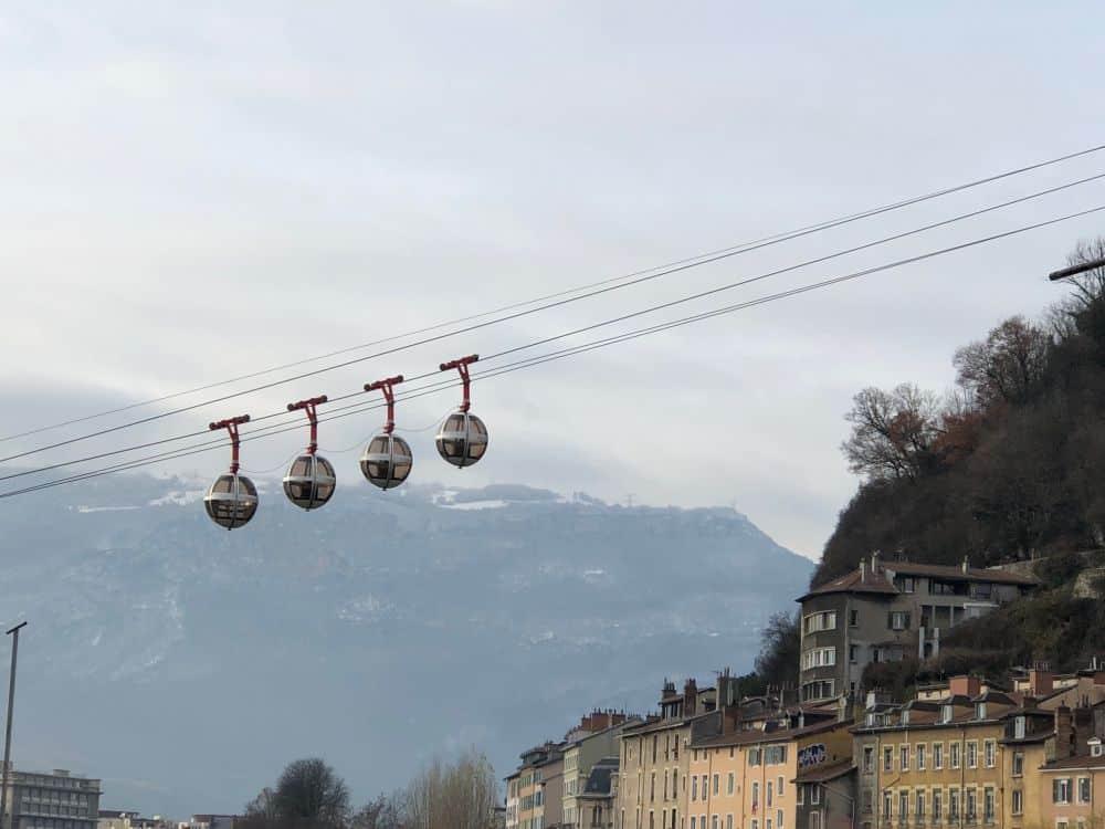 Grenoble, white Christmas destination Europe