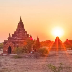 places to watch sunrise Bagan