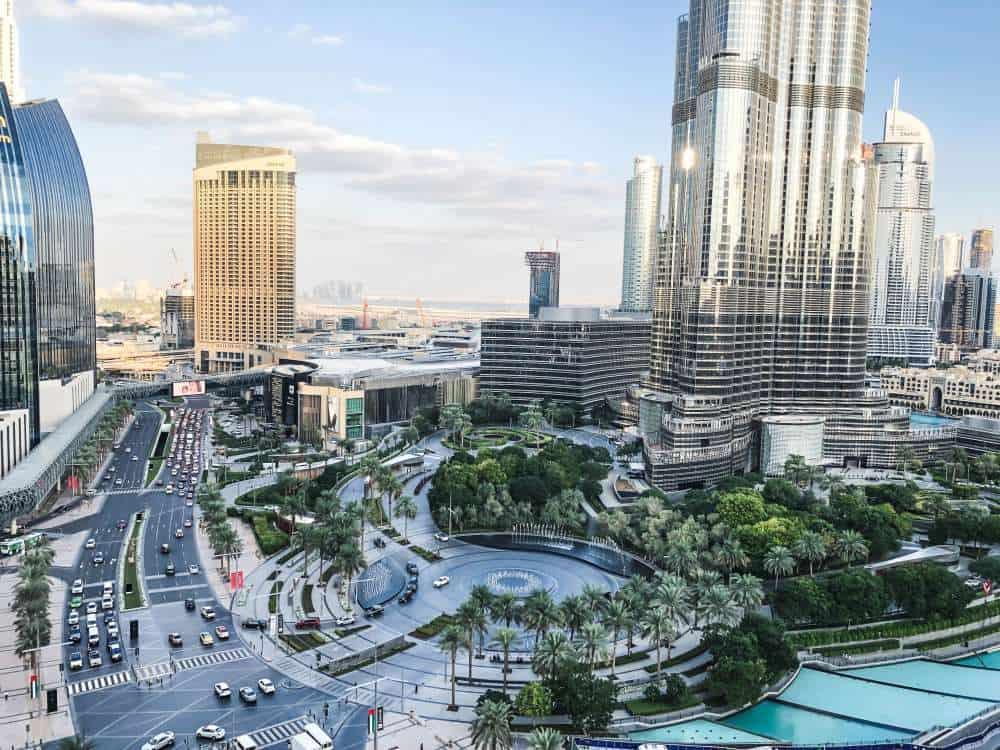 Dubai, UAE city view