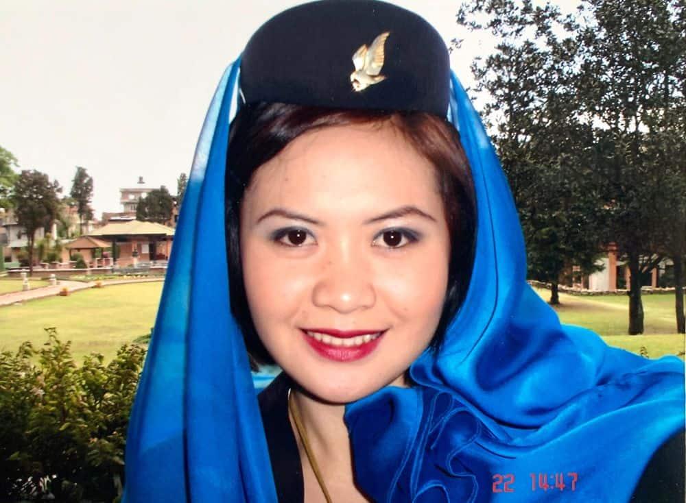Flight attendant in the UAE