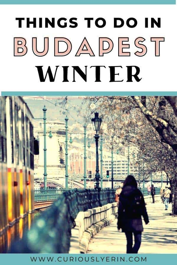 Budapest is one of the most festive destinations for winter in Europe! Discover the top things to do in Budapest in winter. Whether you're visiting Budapest in December, January or Febraury this article will give you tips and advice on the best things to do during the colder months. Just make sure to pack layers! #budapestitinerary #budapestinwinter #thingstodoinbudapest #budapesttravel